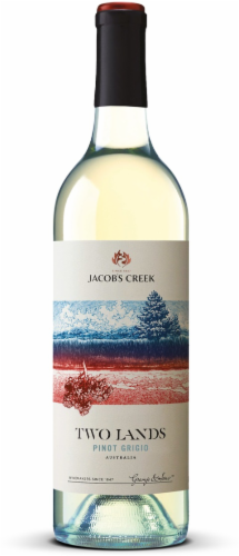 Jacob's Creek Two Lands Pinot Grigio Perspective: front