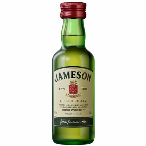 Jameson Original Irish Whiskey Perspective: front