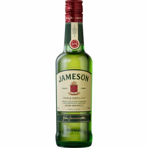 Jameson Triple Distilled Irish Whiskey Perspective: front