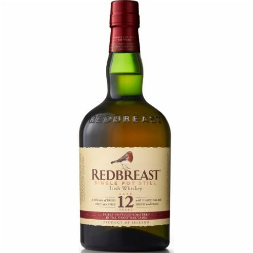 Redbreast Single Pot Still 12 Year Irish Whiskey Perspective: front