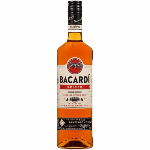 Bacardi Oakheart Spiced Rum Perspective: front