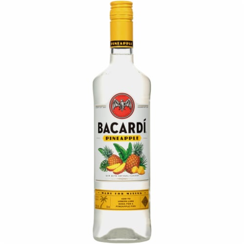 Bacardi Pineapple Rum Perspective: front