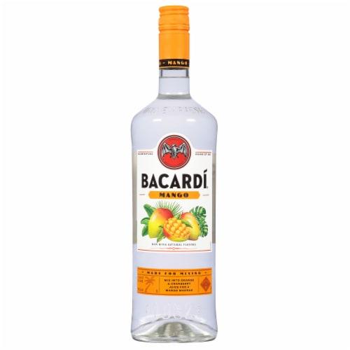 Bacardi Mango Rum Perspective: front