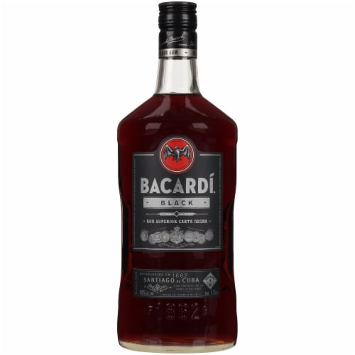 Bacardi Black Rum Perspective: front
