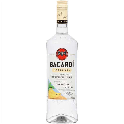 Bacardi Banana Rum Perspective: front