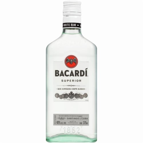 Bacardi Superior White Rum Perspective: front