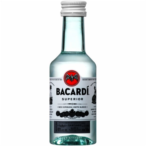 Bacardi Superior Rum Perspective: front