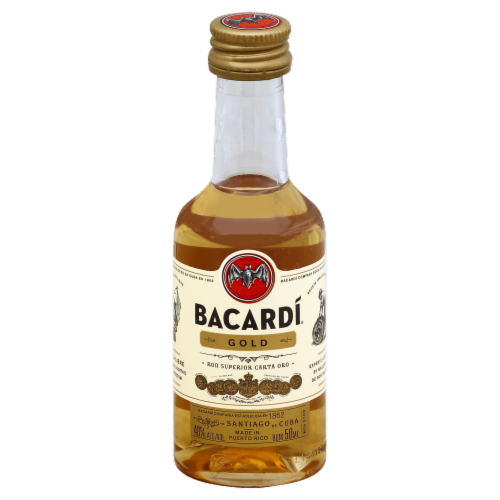 Bacardi Gold Rum Perspective: front