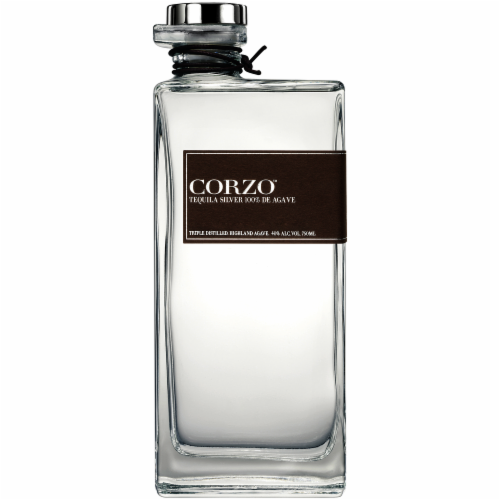 Corzo Tequila Silver Perspective: front