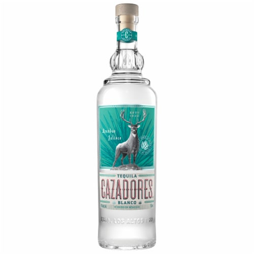Cazadores Tequila Blanco Perspective: front