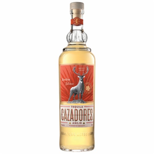 Cazadores Tequila Anejo Perspective: front