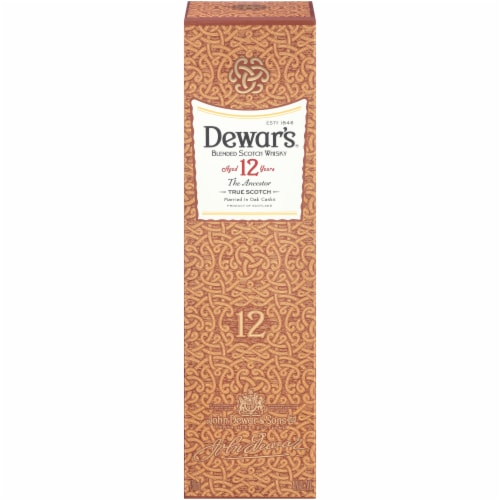 Dewar's The Ancestor 12 Year Blended Scotch Whisky Perspective: front