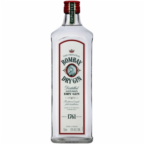 Bombay Gin Dry Gin Perspective: front
