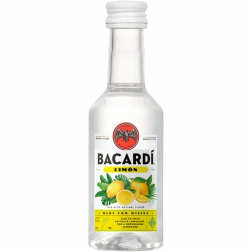 Bacardi Limon Rum Perspective: front