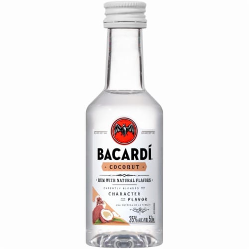 Bacardi Coconut Rum Perspective: front