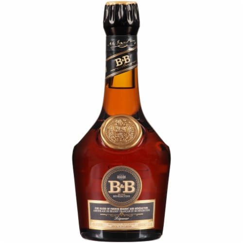 Dom Benedictine B&B French Brandy Perspective: front