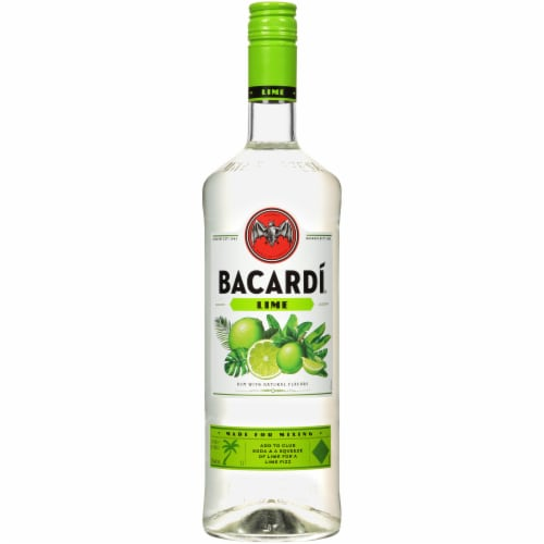 Bacardi Lime Rum Perspective: front