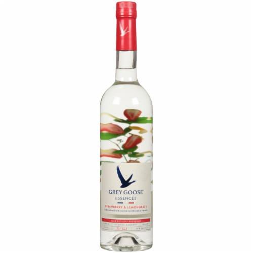 Grey Goose Strawberry & Lemongrass Vodka Perspective: front