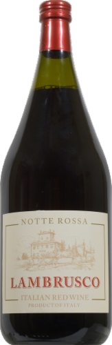 Notte Rossa Lambrusco Perspective: front