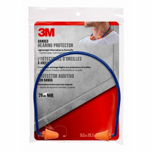 3M Style Banded Hearing Protection Perspective: front