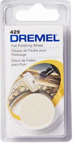 Dremel Felt Polishing Wheel Perspective: front