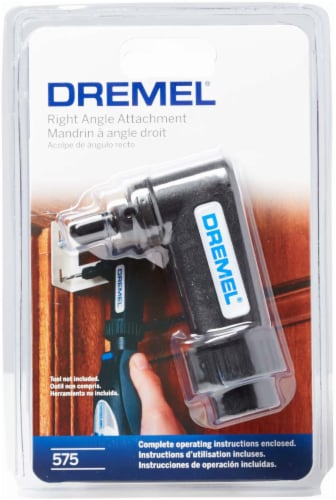 Dremel Right Angle Attachment Perspective: front
