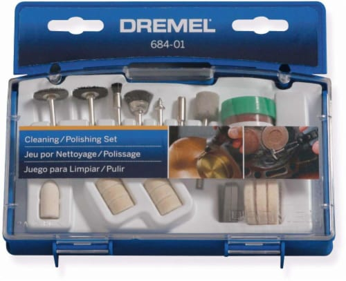 Dremel Cleaning/Polishing Set Perspective: front