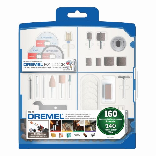 Dremel All-Purpose Accessory Storage Kit Perspective: front
