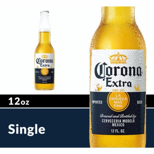 Corona® Extra Beer Perspective: front