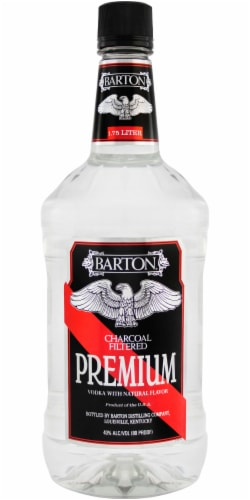 Barton Charcoal Filtered Vodka Perspective: front