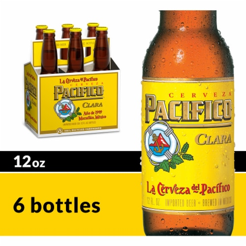 Pacifico Clara Imported Beer Perspective: front