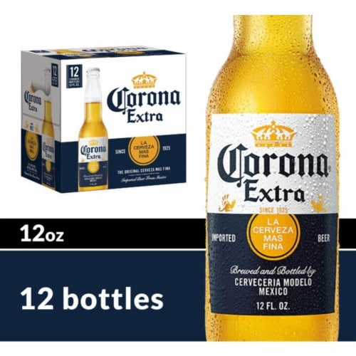Corona Extra Lager Beer Perspective: front