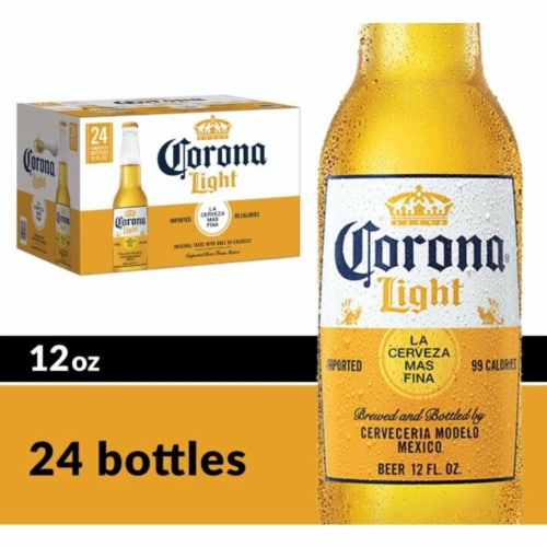 Corona® Light Imported Beer Perspective: front