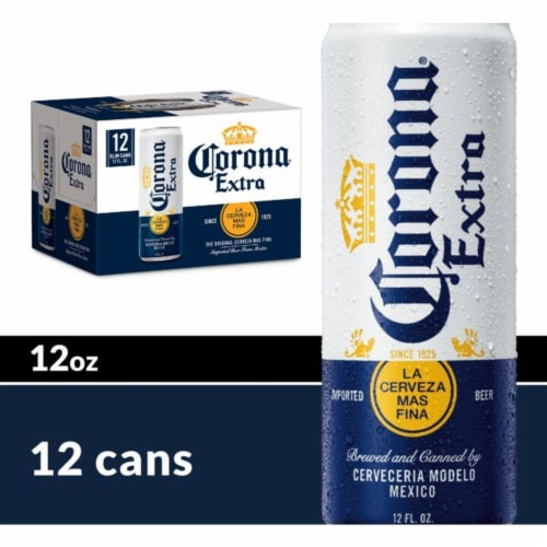 Corona® Extra Imported Beer Perspective: front