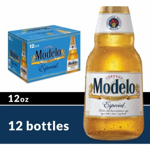 Modelo Especial Mexican Lager Beer Perspective: front