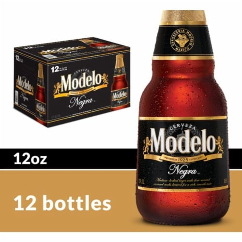 Modelo Negra Imported Amber Lager Beer Perspective: front