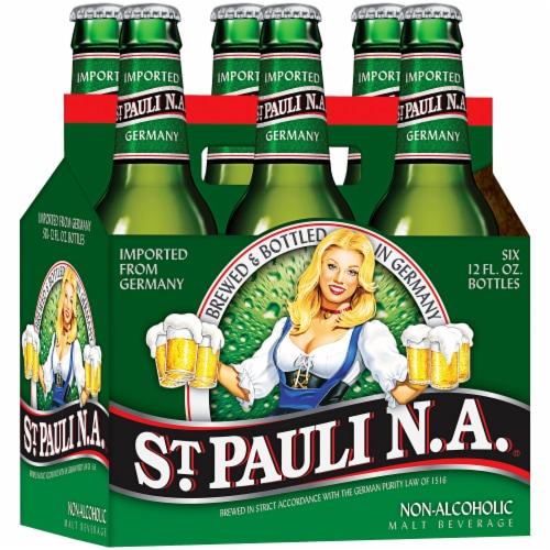St. Pauli Girl Non-Alcoholic Malt Beverage Perspective: front