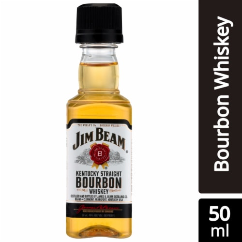 Jim Beam Kentucky Straight Bourbon Whiskey Perspective: front