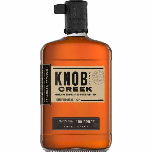 Knob Creek Small Batch Kentucky Straight Bourbon Whiskey Perspective: front