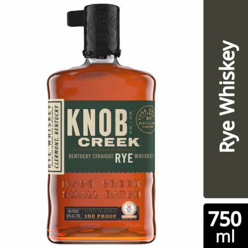 Knob Creek Kentucky Bourbon Rye Whiskey Perspective: front