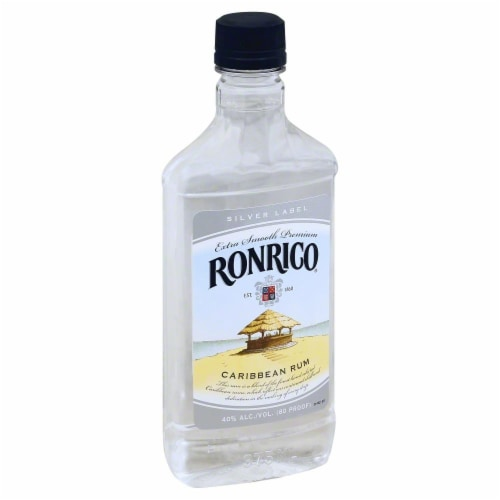 Ronrico Silver Rum Perspective: front