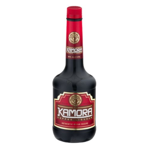 Kamora Coffee Liqueur Perspective: front