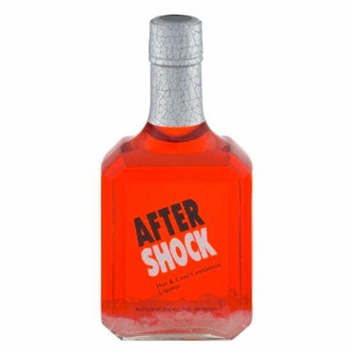 Aftershock Cinnamon Liqueur Perspective: front