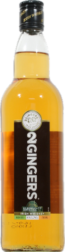 2 Gingers Blended Irish Whiskey Perspective: front