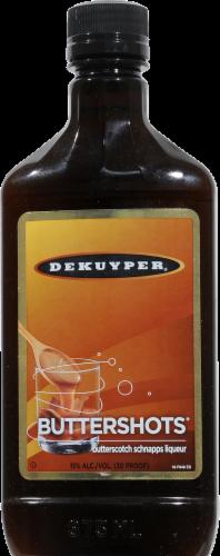 DeKuyper Buttershots Schnapps Liqueur Perspective: front