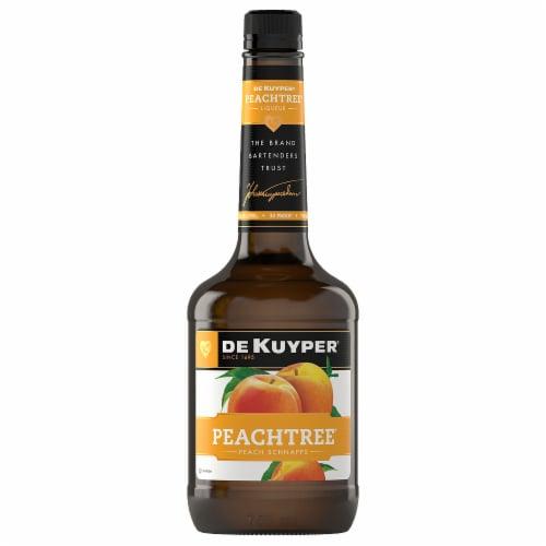 DeKuyper Peachtree Schnapps Liqueur Perspective: front