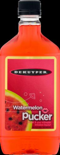 DeKuyper Watermelon Pucker Liqueur Perspective: front