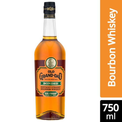 Old Grand-Dad Bonded Kentucky Straight Bourbon Whiskey Perspective: front