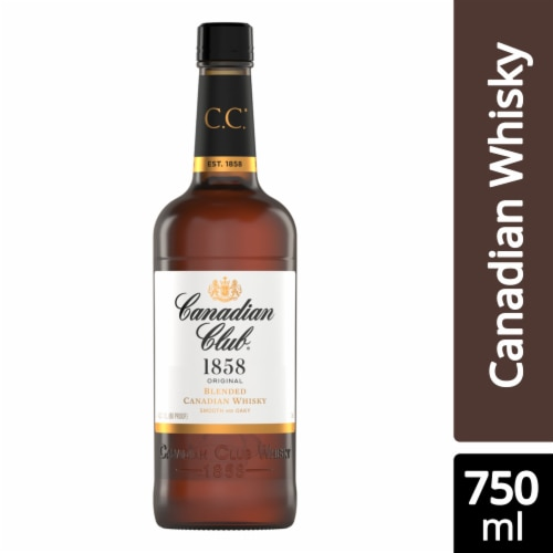 Canadian Club 6 Year Canadian Whisky Perspective: front