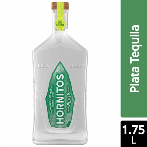 Hornitos Plata Tequila Perspective: front